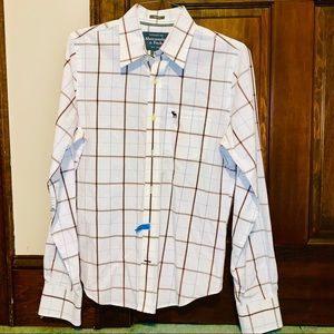 Abercrombie and Fitch Plaid Button Down Shirt